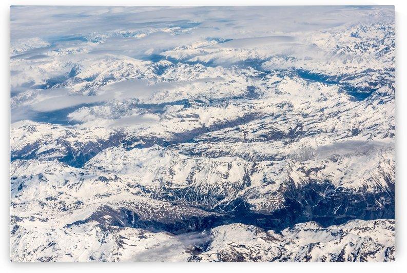 Snowy Landscape - Near Satellite View by GorgeousWorld_Store