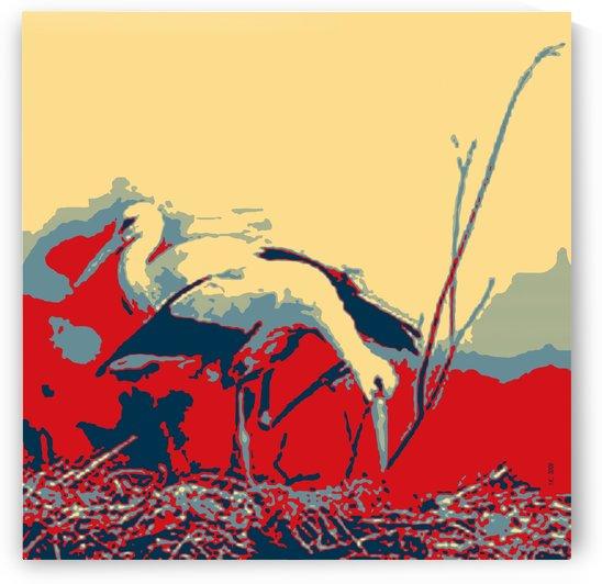 Storks-1 by Ivan Kolisnyk