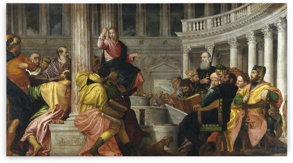 Disputa con los doctores by Paolo Veronese