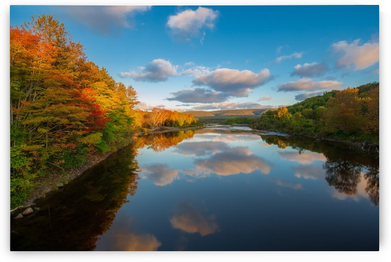 A Margaree Fall by Michel Soucy