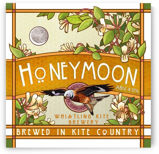 Whistling Kite Brewery: Honeymoon by Alex Holt
