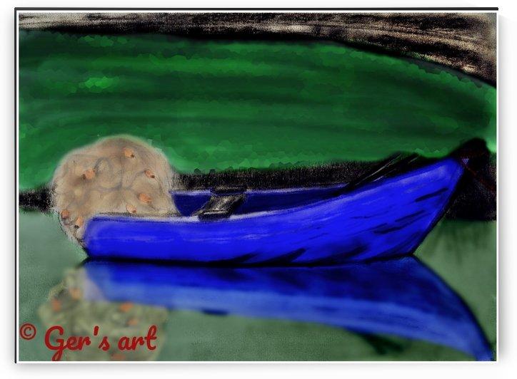Fishermans boat by Gerald Botha