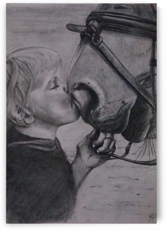 Childs innocence by Gerald Botha