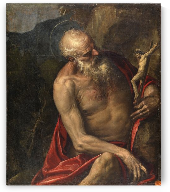 Saint Jerome meditating by Paolo Veronese