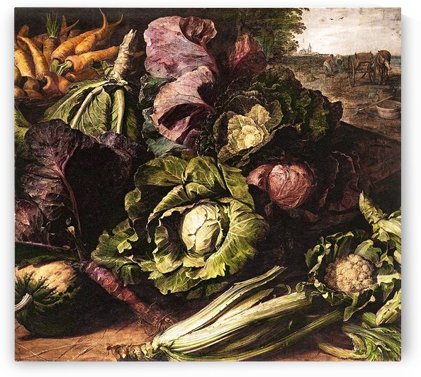 Still Life Vegetables_OSG by One Simple Gallery