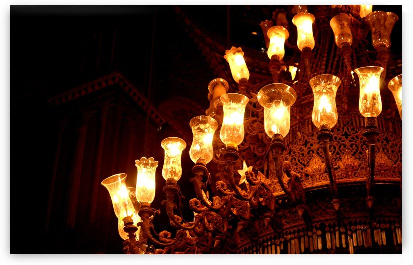 The Odd One Out - Antique Chandelier by Creative Chronicles