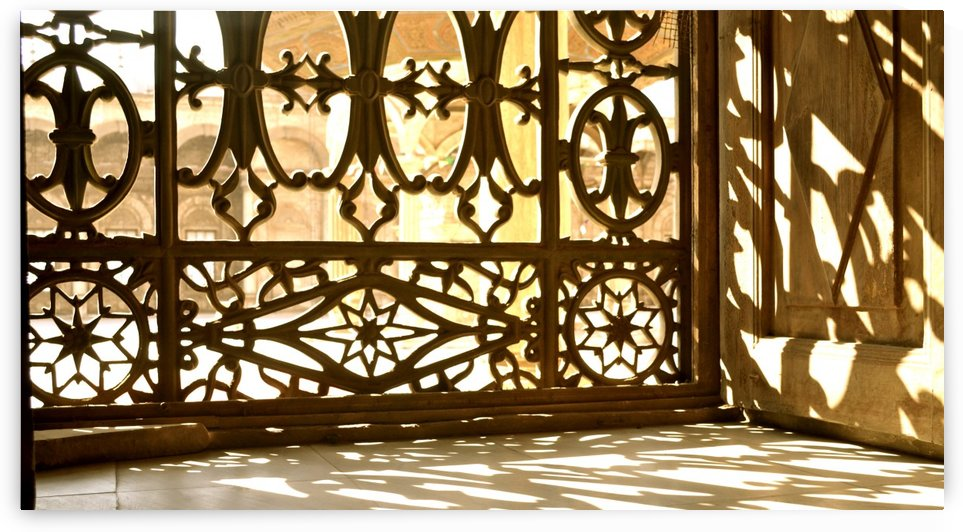 Egyptian Heritage Architecture Light & Shadow by Creative Chronicles
