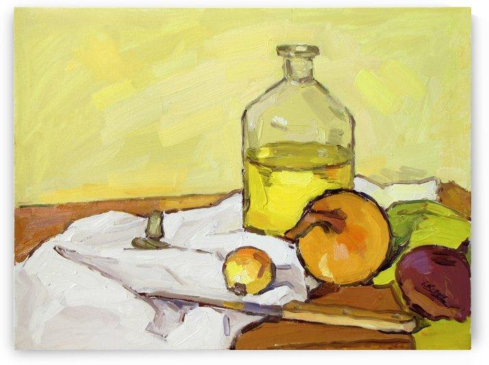 Still Life with Onion-2 by Ivan Kolisnyk