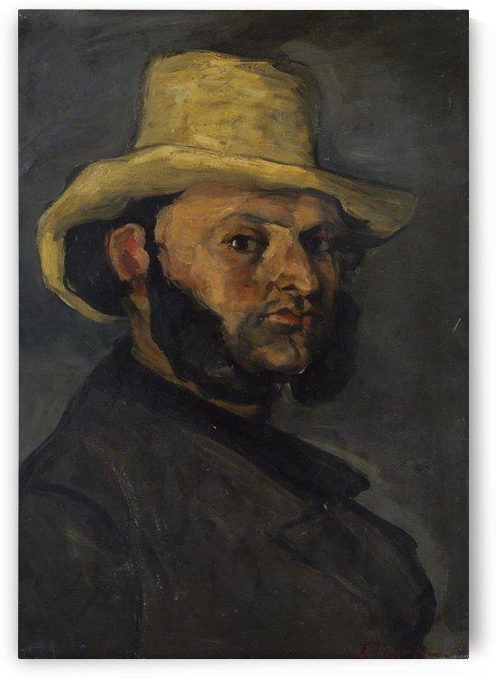 Gustave Boyer by Paul Cezanne