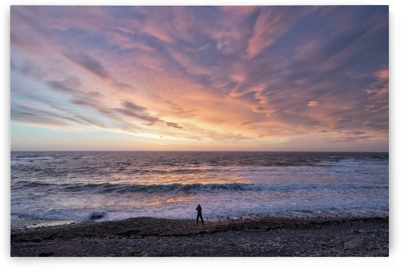 Seaside Sunset by Michel Soucy