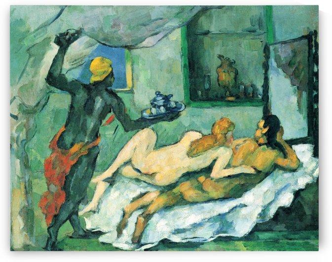 Nachmittags in Neapel by Paul Cezanne