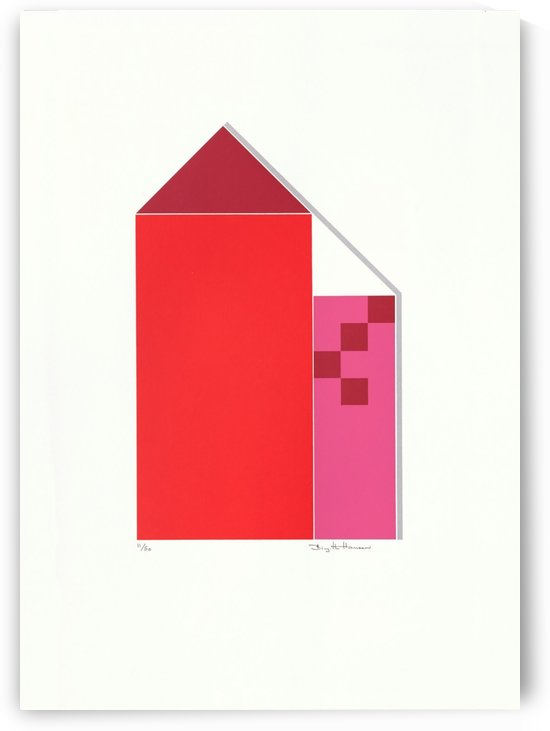 Røde Huse. by Birgitte Hansen