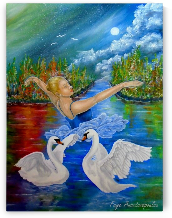 Swan Lake by Faye Anastasopoulou