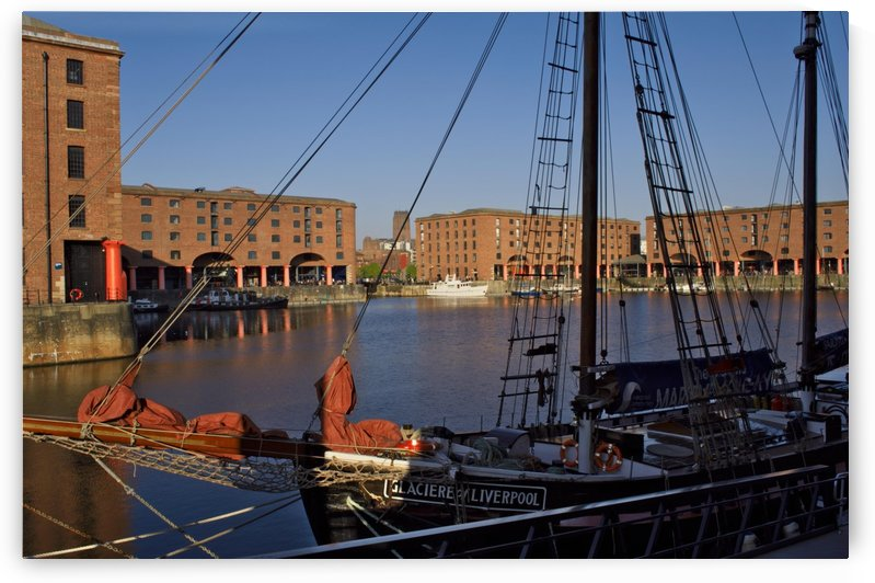 Albert Dock Liverpool by Douglas Kay