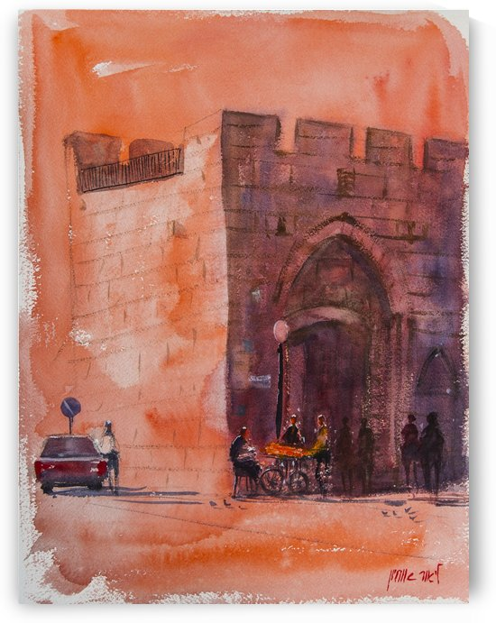 The Old City Jerusalem by Lior Ohayon