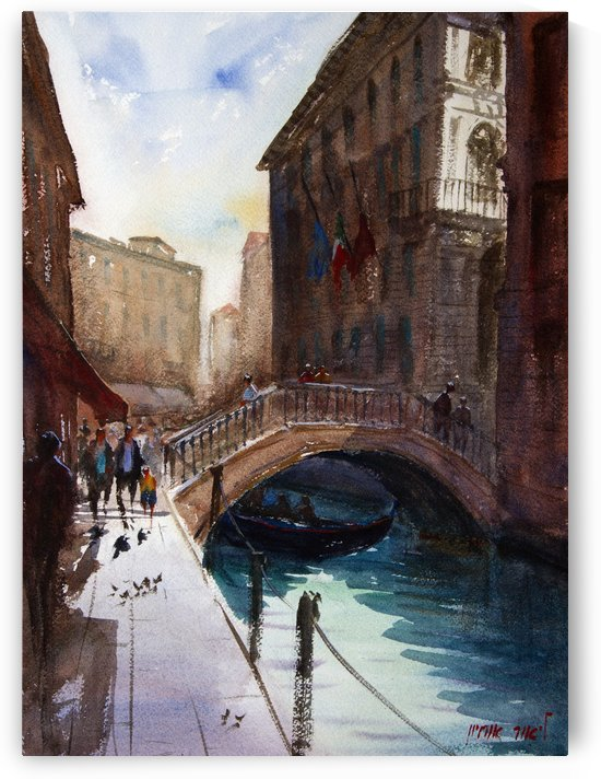 VENICE 4 Italy by Lior Ohayon