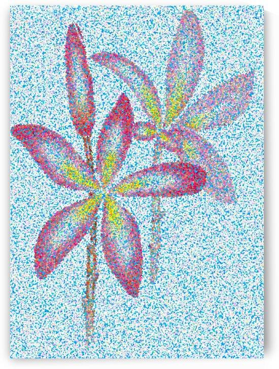 Flowers by Pracha Yindee