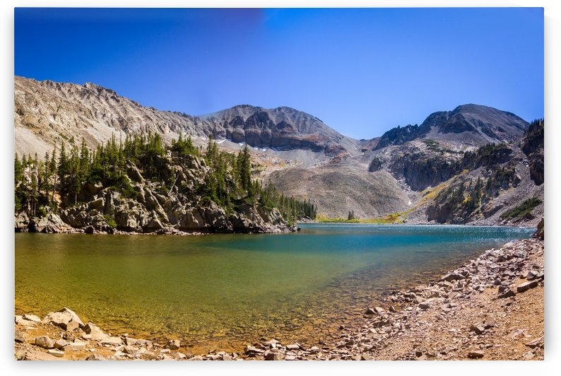 Lake Agnes CO - Glacial Lake  by 3Quarters Images