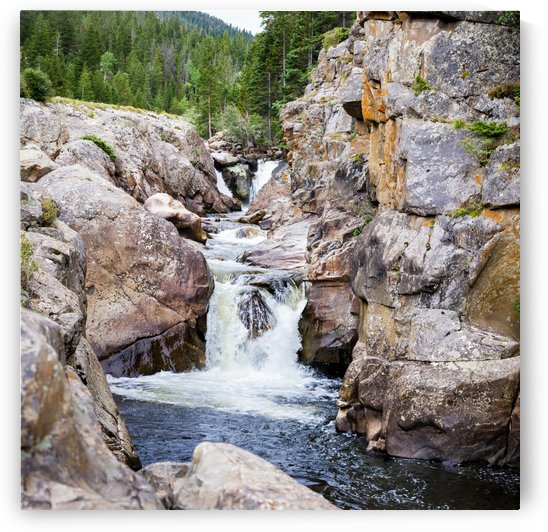 Poudre River Colorado by 3Quarters Images