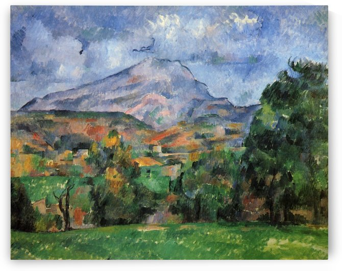 Montagne Sainte-Victoire 1888 by Paul Cezanne