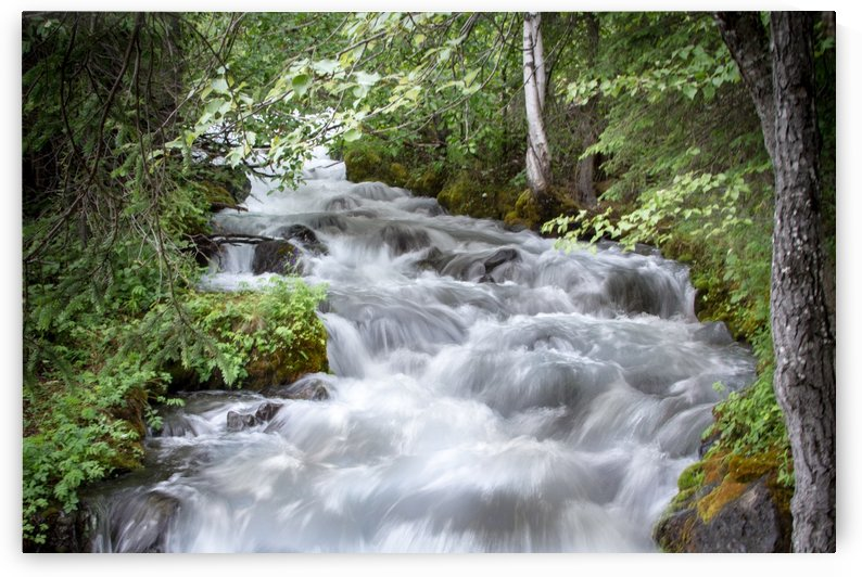 Beautiful Waterfall Photos - Alaska by 3Quarters Images
