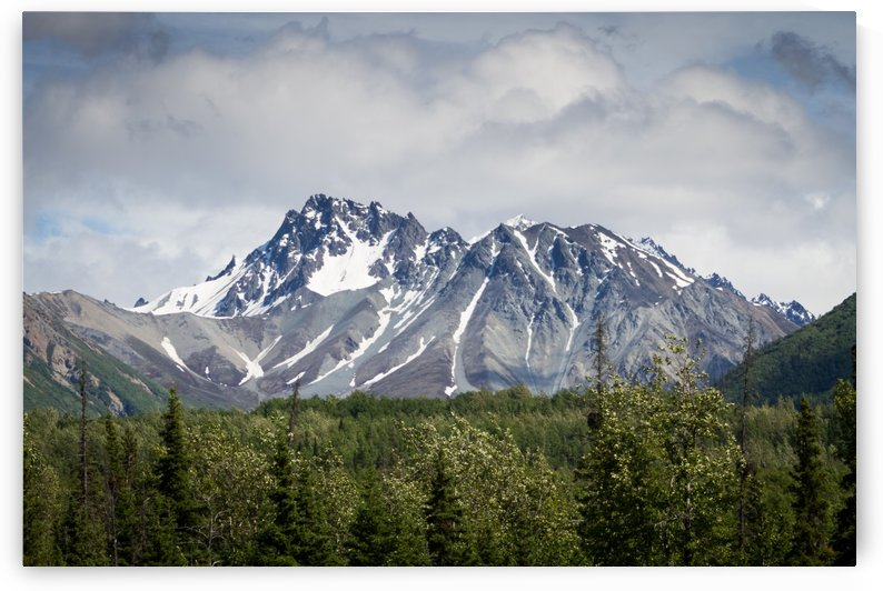 Alaska Mountain Range by 3Quarters Images