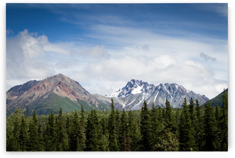 Photos Alaska Mountains by 3Quarters Images