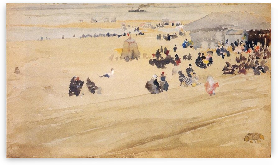 Beach Scene by Whistler by Whistler