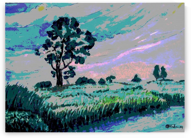 morning Landscape2 by Pracha Yindee