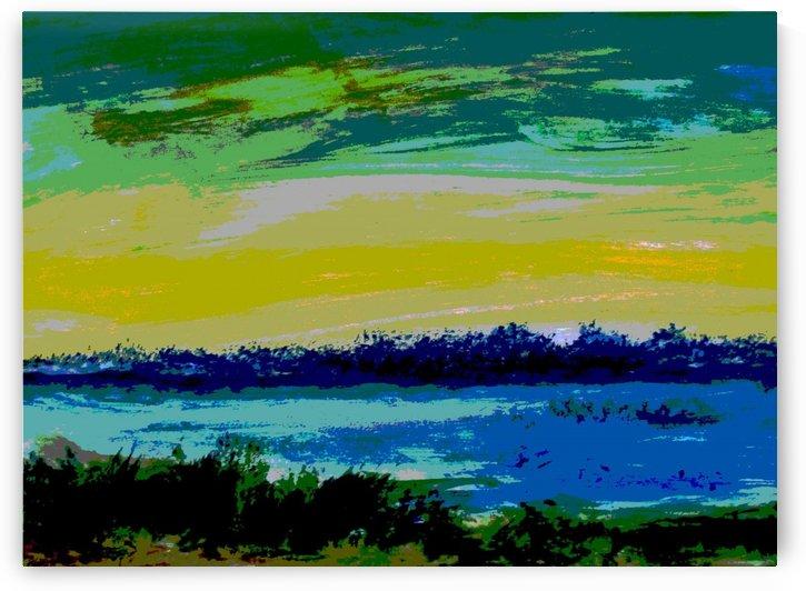 Morning Landscape 3 by Pracha Yindee