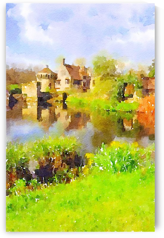 Scotney Castle by Douglas Kay
