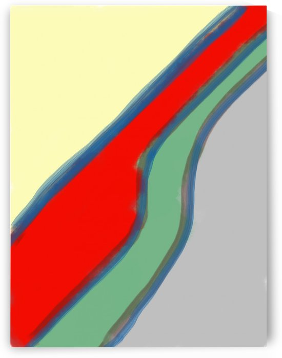 Abstract with lines by Douglas Kay