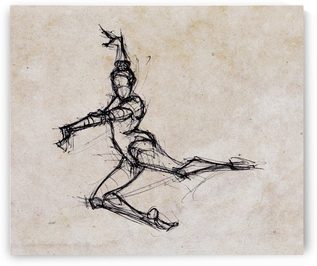 Fast Sketch by Delaram dehrouyeh