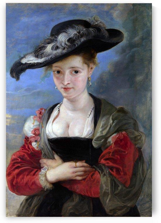 Le Chapeau de Paille by Peter Paul Rubens