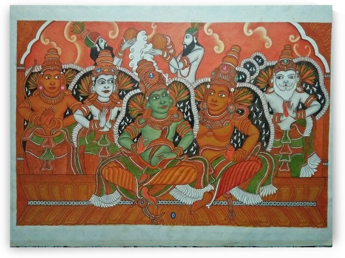 sree rama pattabhishekam by bhagyesh