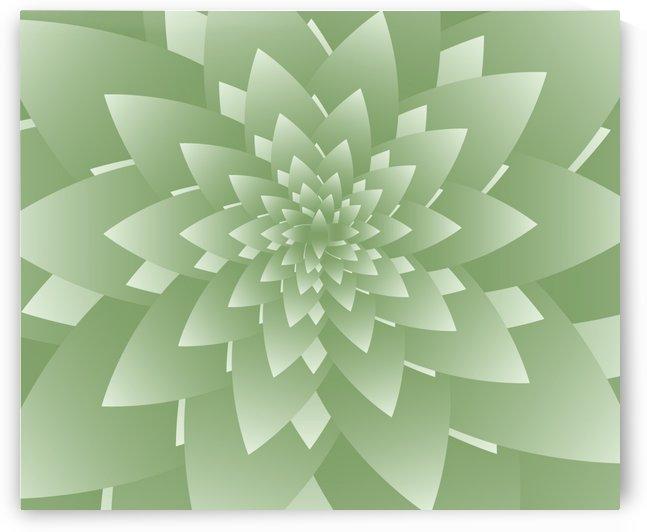 Fractal Leaves Art by rizu_designs
