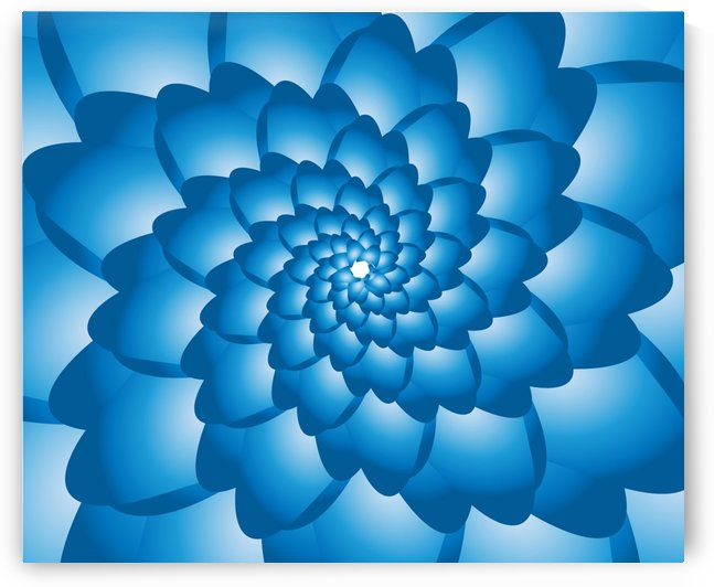 Flower Swirl Pattern  Art by rizu_designs