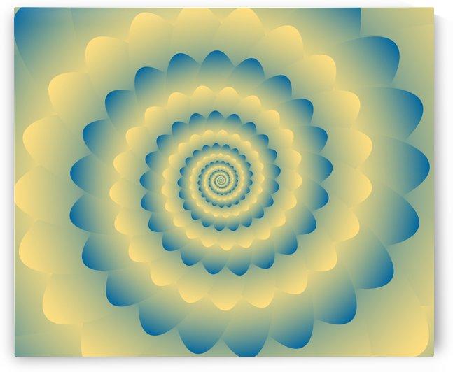 Fractal Flower Artwork by rizu_designs