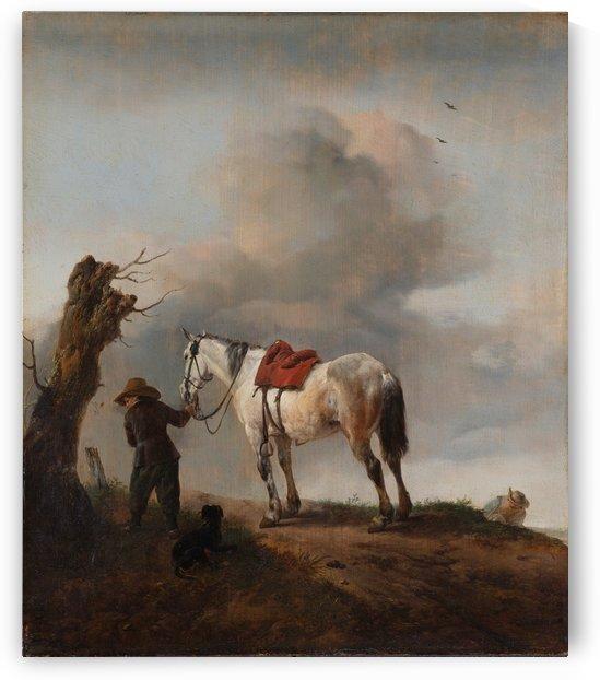 De schimmel Rijksmuseum by Philips Wouwermans