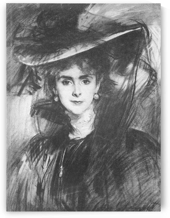 Baroness de Meyer by John Singer Sargent by John Singer Sargent