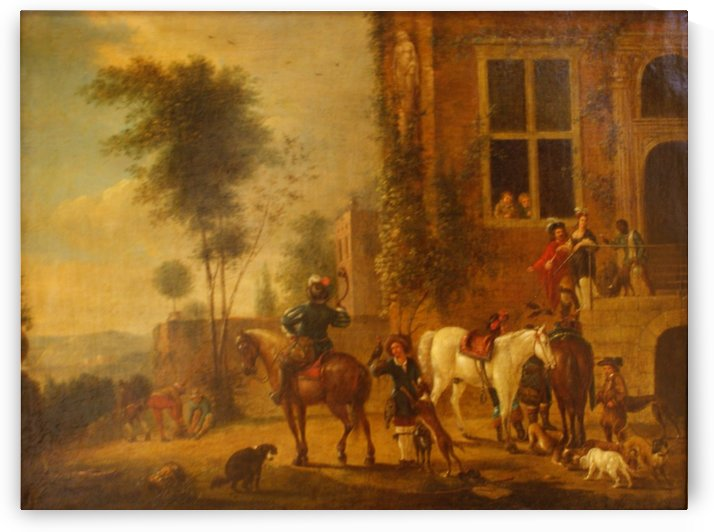 Before 1668 by Philips Wouwermans