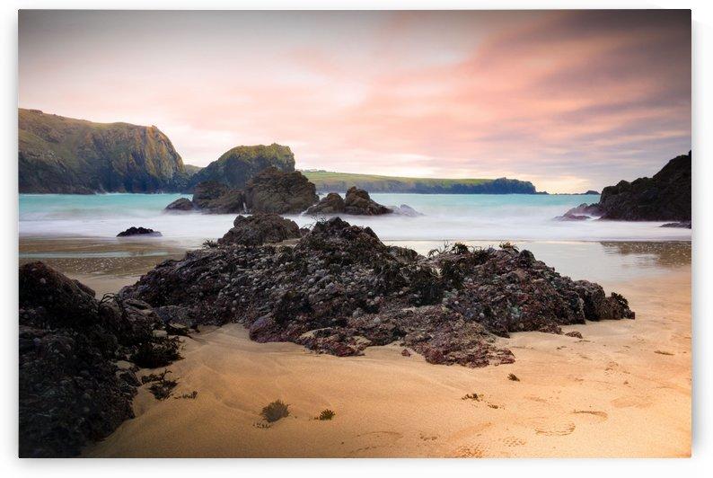 Surreal Stormy Beach Scene by Kieran Pearce