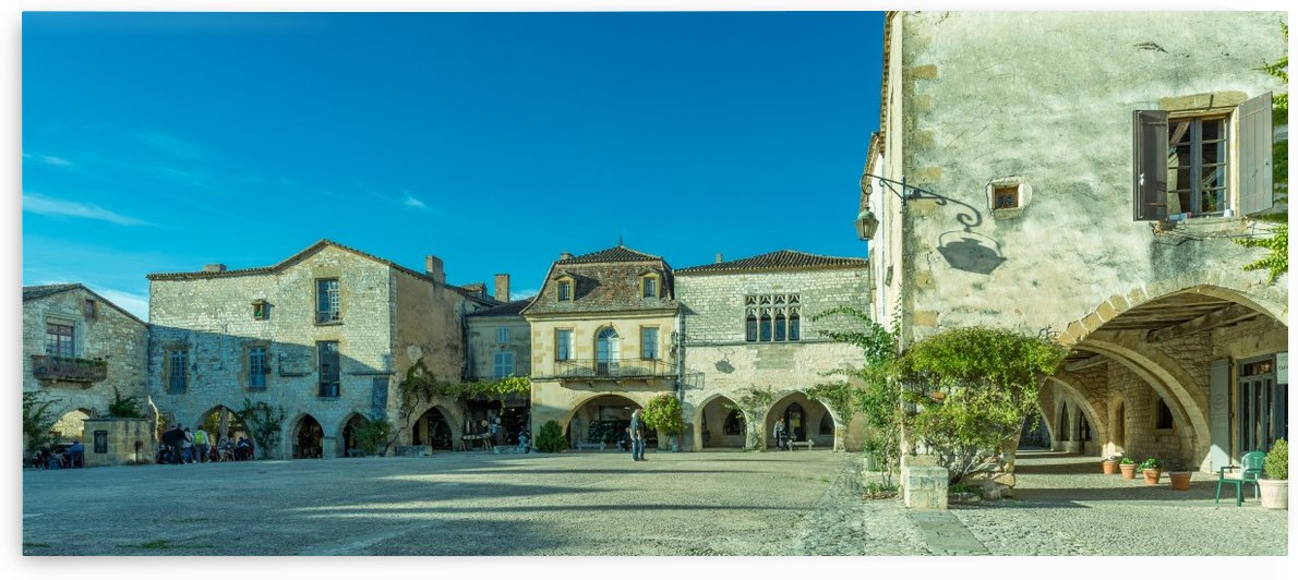 Monpazier Dordogne  by Douglas Kay