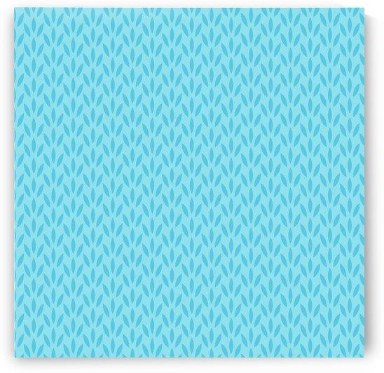 Blue Leaf pattern Art by rizu_designs
