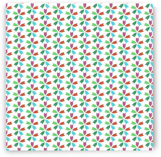 Flower Seamless Pattern Artwork by rizu_designs