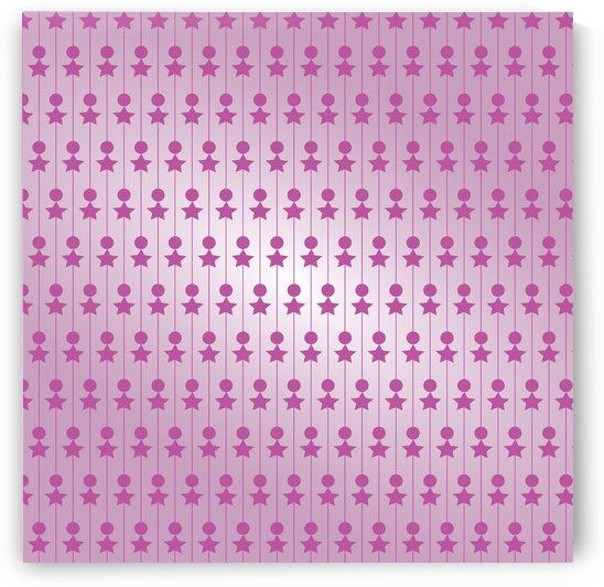 Pink Art Pattern Artwork by rizu_designs
