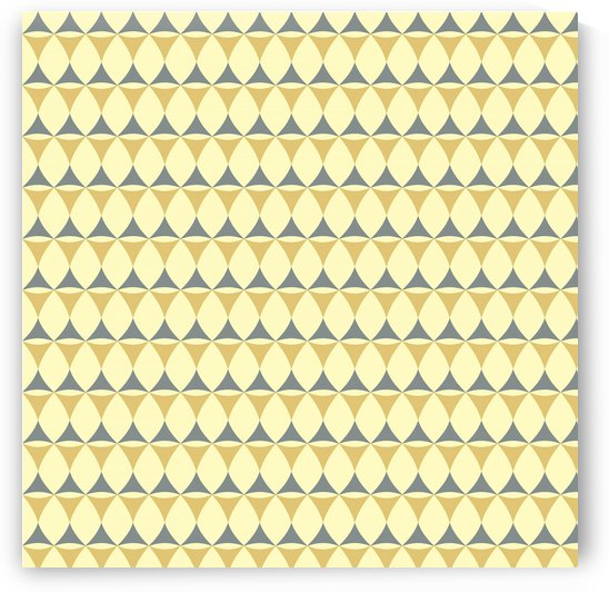 Yellow _ Grey Seamless Pattern Art by rizu_designs