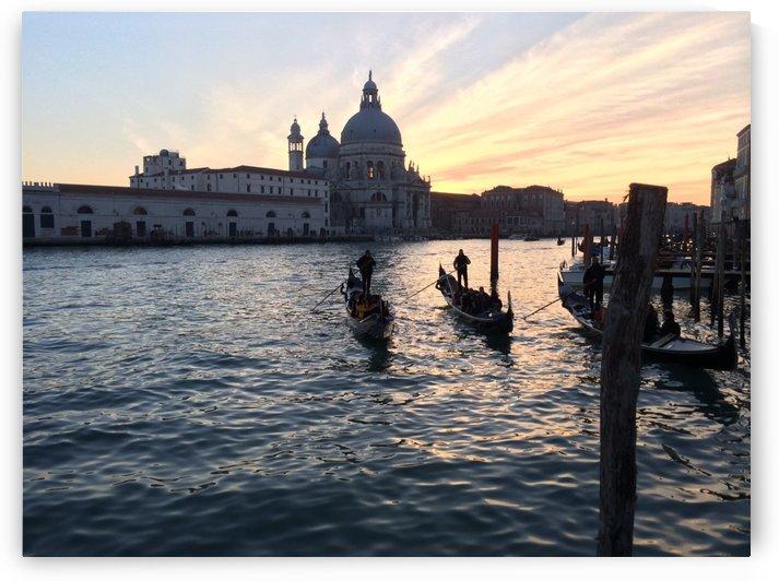 Venice sunset by Douglas Kay