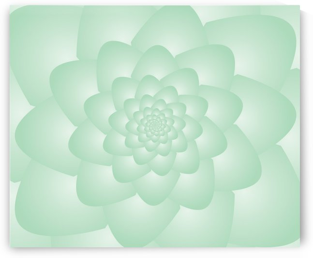 Pastel Green Art by rizu_designs