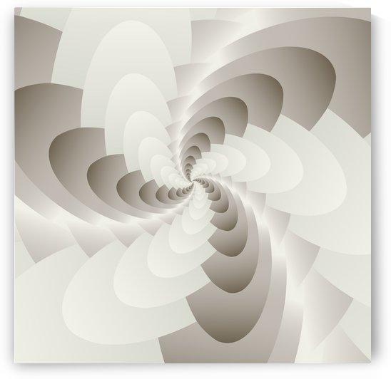 White Spirally Art  by rizu_designs